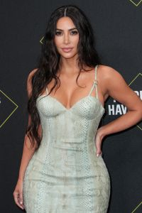 Kim Kardashian Wearing a Tight Dress at the PCA Awards