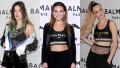 PUMA x Balmain Launch Event in L.A., Bella Thorne, Hannah Brown, Cara Delevingne