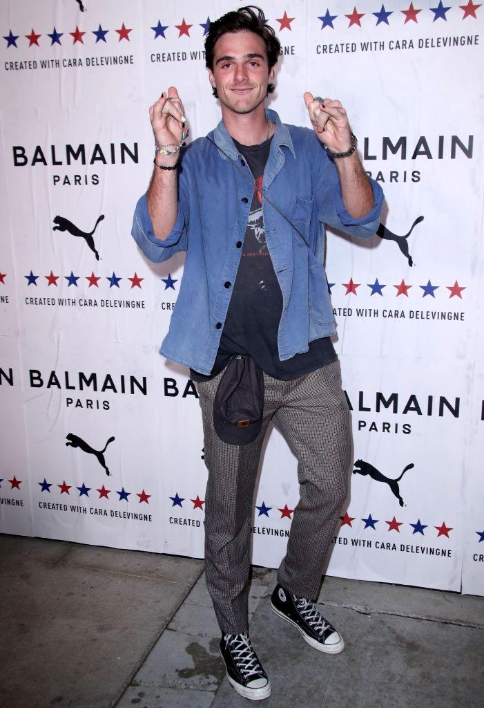 PUMA x Balmain Launch Event in L.A., Jacob Elordi