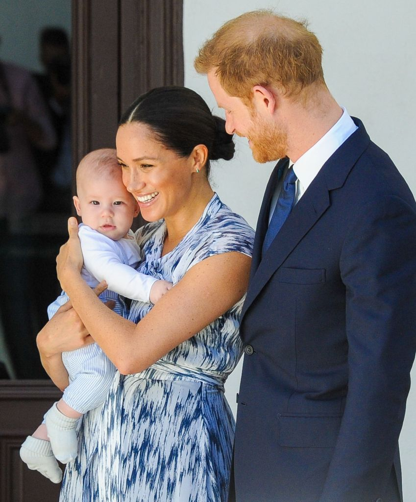 Prince Harry, Meghan Markle and Baby Archie During Royal Tour