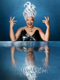 Queen Latifah as Ursula THE LITTLE MERMAID LIVE