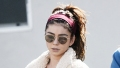 Sarah Hyland Flaunts Her Toned Tummy After Her Pilates Workout