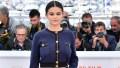 Selena Gomez Posing in a Chanel Suit