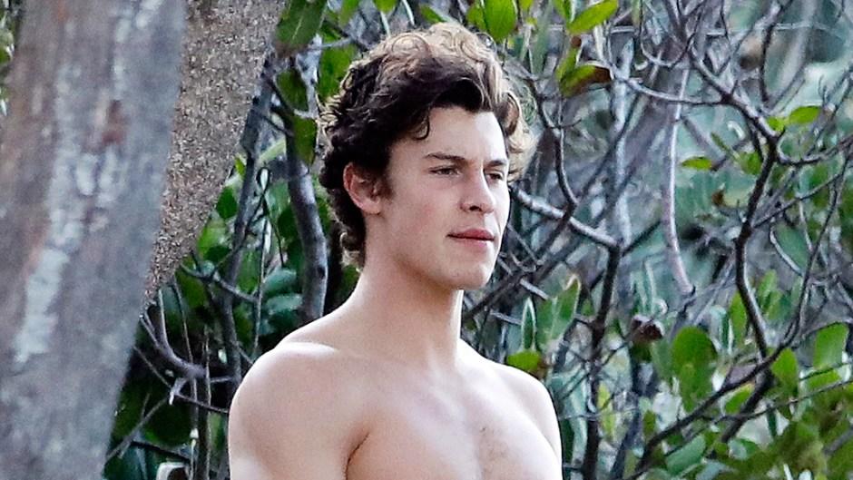 Shawn Mendes Walking Shirtless Australia