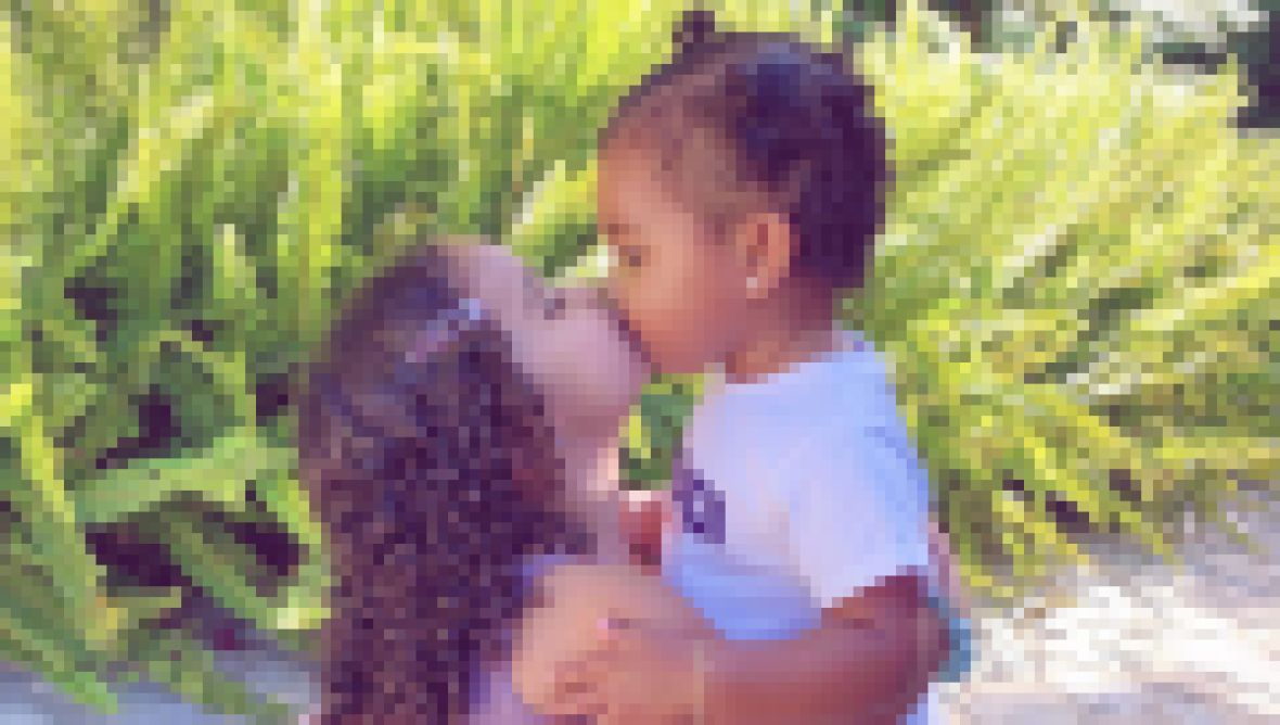 True Thompson and Dream Kardashian Cutest Photos