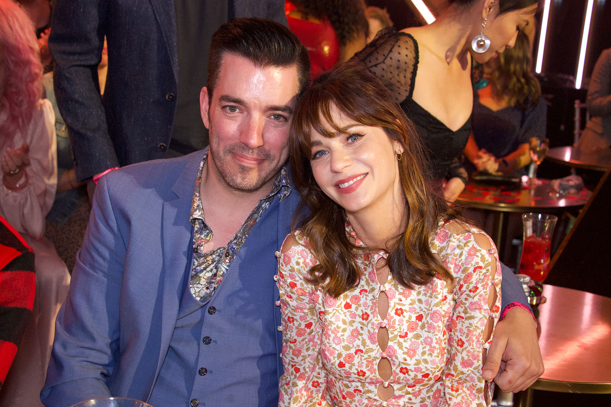 Jonathan Scott Has 'Already Moved Some of His Belongings' Into GF Zooey Deschanel's Place