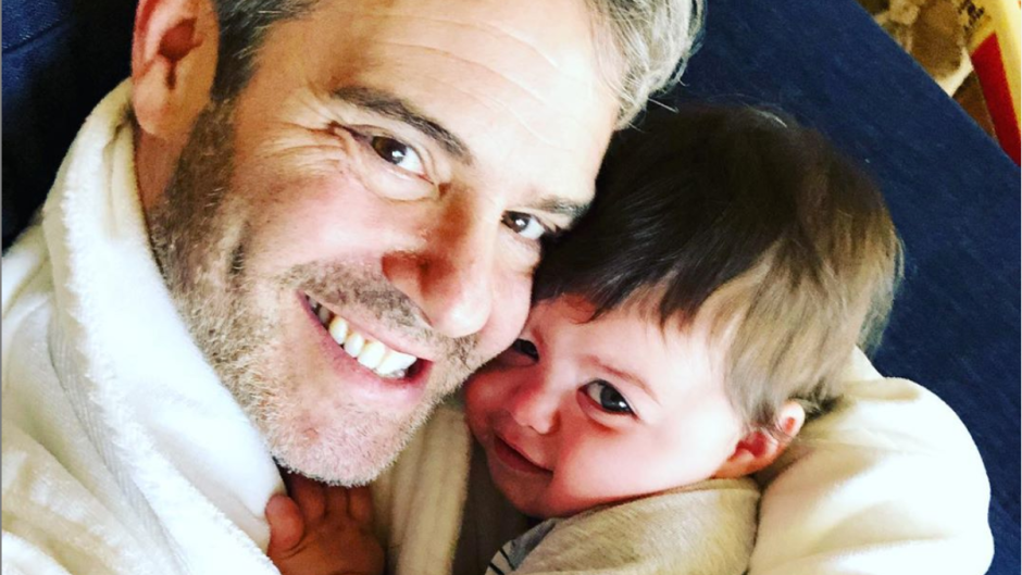 Andy Cohen and Benjamin