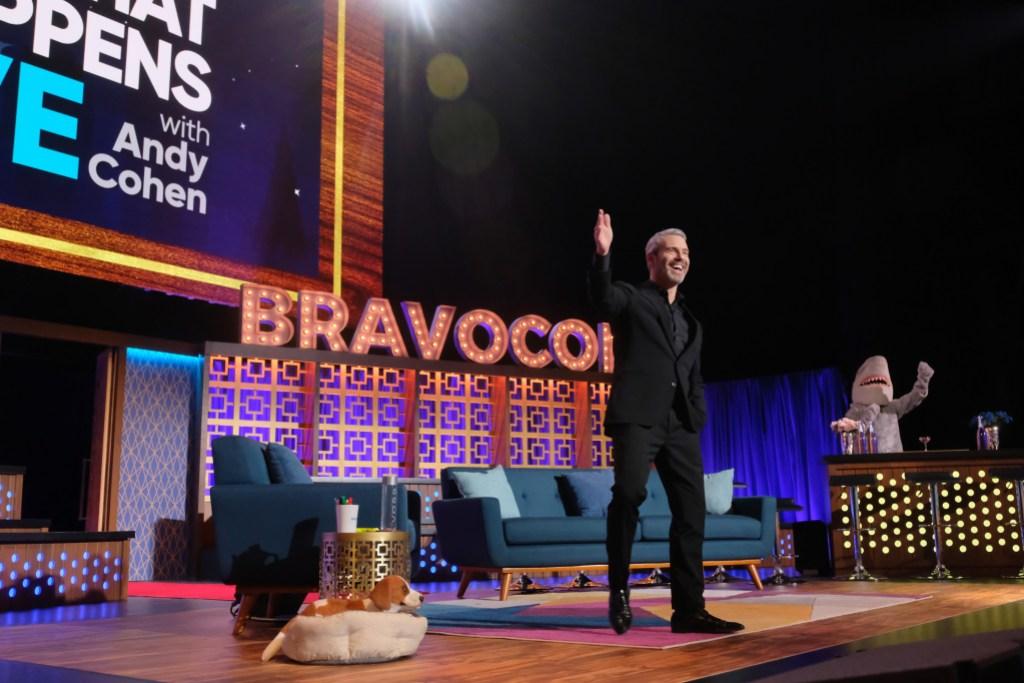 Andy Cohen WWHL at BravoCon