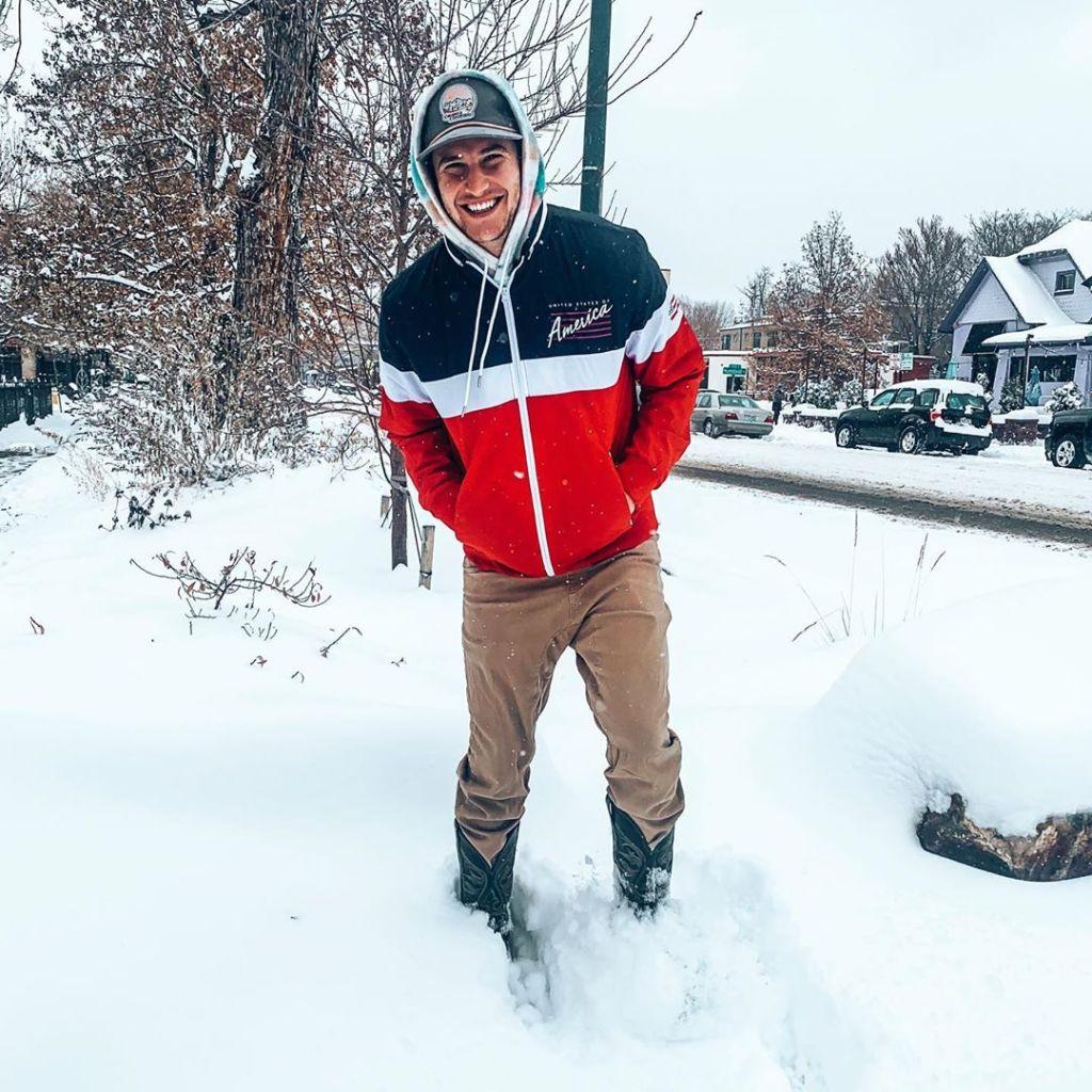 Blake Horstmann Colorado Snowing Photo