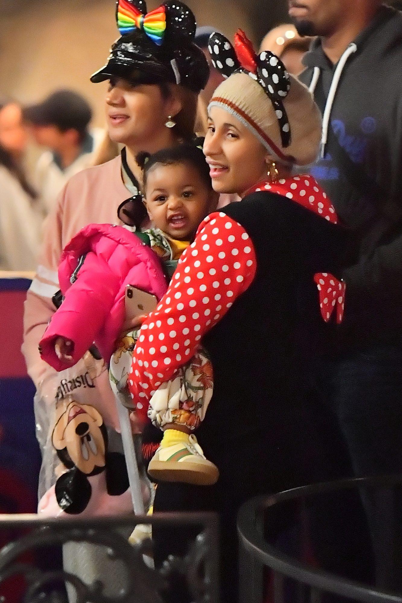 Cardi B S Daughter Kulture Celebrates Her Parents Grammy Nom On Ig