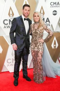 Carrie Underwood, Mike Fisher at 2019 CMAs