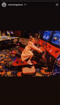 Channing Tatum Everly Vegas Daddy-Daughter Date