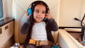 Dream Kardashian on a Helicopter