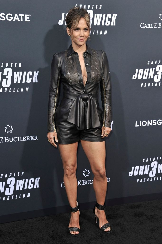 Halle Berry Has Abs at Age 53