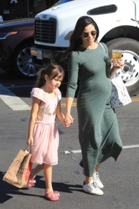 Jenna Dewan and Daughter Everly Have a Lunch Date