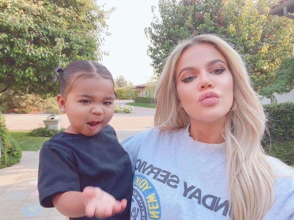 Khloe Kardashian and True Thompson in Talks for KUWTK Spinoff Show Khloe and True Take the World