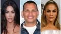 Kim Kardashian Jennifer Lopez Alex Rodriguez