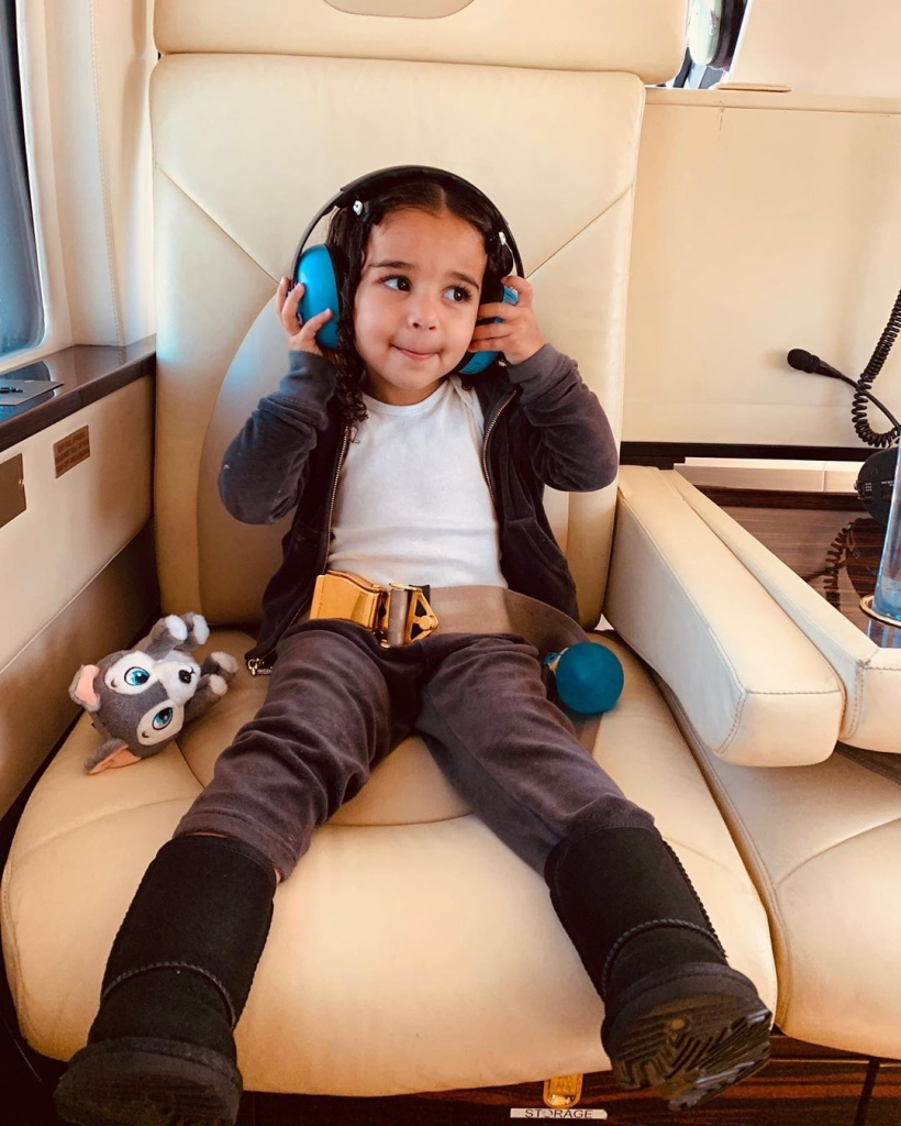 Dream Kardashian Went on Her First Helicopter Ride Thanks to Aunt Kylie Jenner
