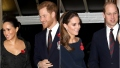 Meghan Markle, Kate Middleton, Prince Harry and Prince William
