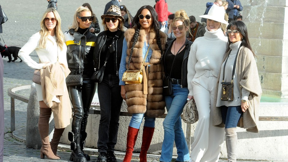 'RHOBH' Cast Trip to Italy