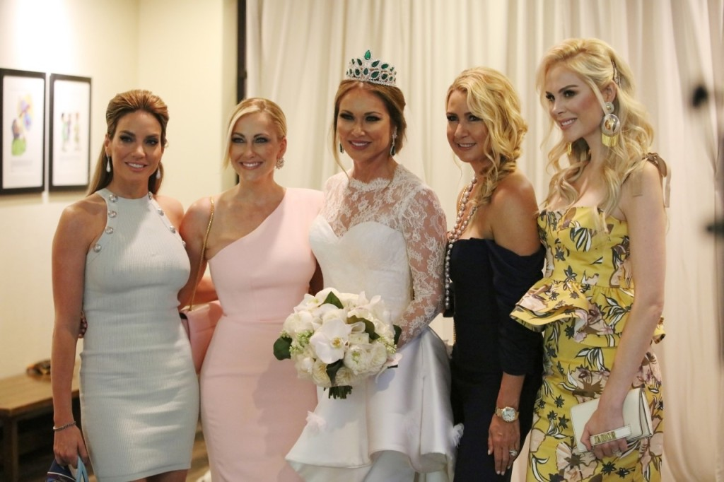 Real Housewives of Dallas Stars at Leanne Locken's Wedding