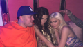 Rob Kardashian, Kendall Jenner and Kylie Jenner at Kendall's Halloween Birthday Party