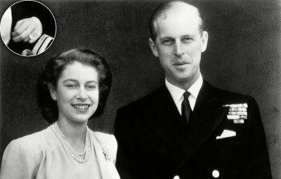 Queen Elizabeth royals' engagement rings?