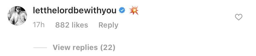 Scott Disick Instagram Comment to Sofia Richie