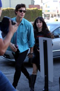 Shawn Mendes and Camila Cabello Go For Sushi