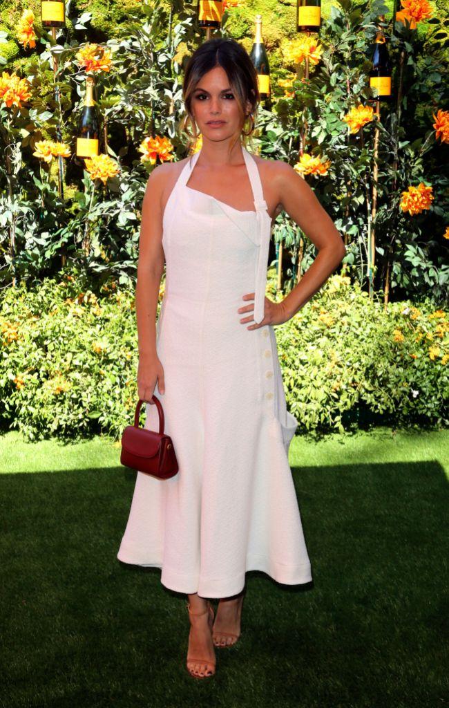 Rachel Bilson White Dress From Nick Viall's Instagram Photo