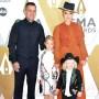 Carey Hart, Jameson Moon Hart, Pink and Willow Sage Hart 2019 CMA Awards Red Carpet pic 2