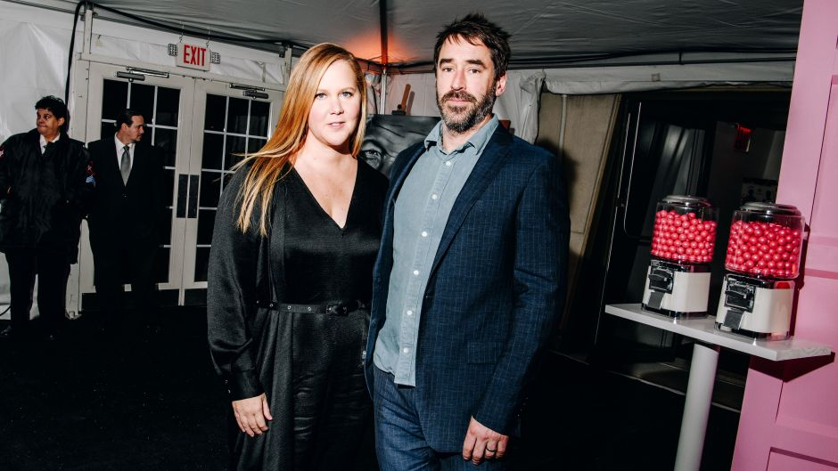 Amy Schumer and Husband Chris Fisher Date Night at Charlize Theron's Charity Event