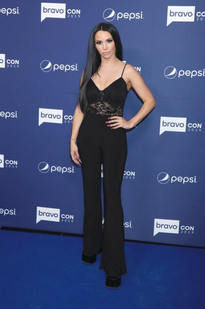 Scheana Shay Wears All Black