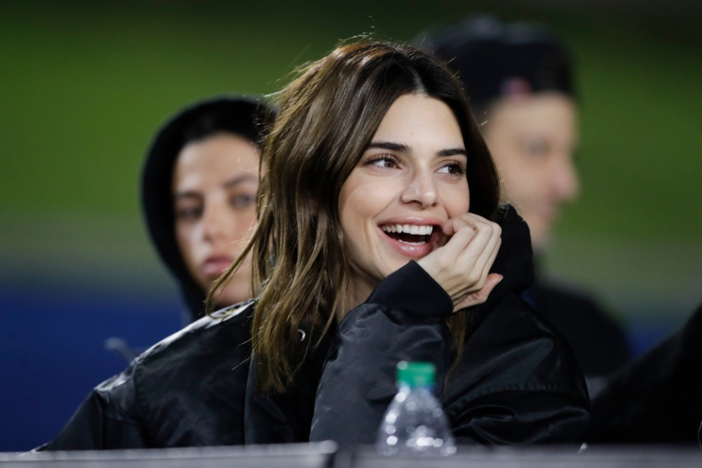 Kendall Jenner Rams Game With Stassie and Victoria