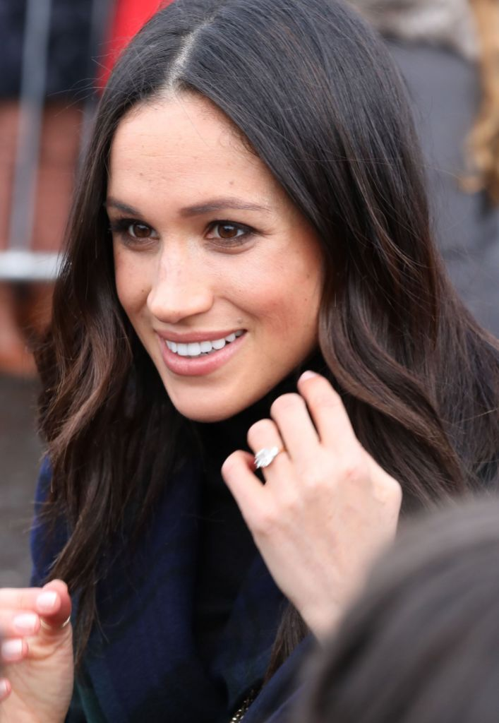 Meghan Markle Engagement Ring From Prince Harry