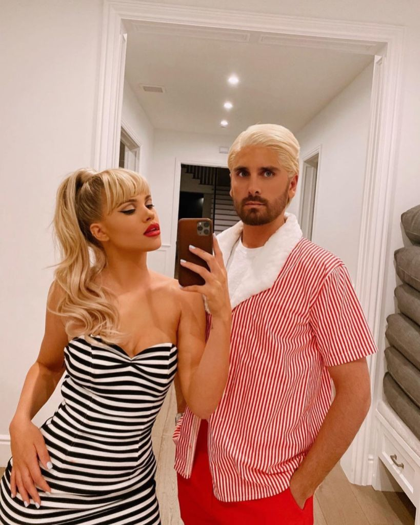Sofia Richie and Scott Disick Barbie and Ken Costume
