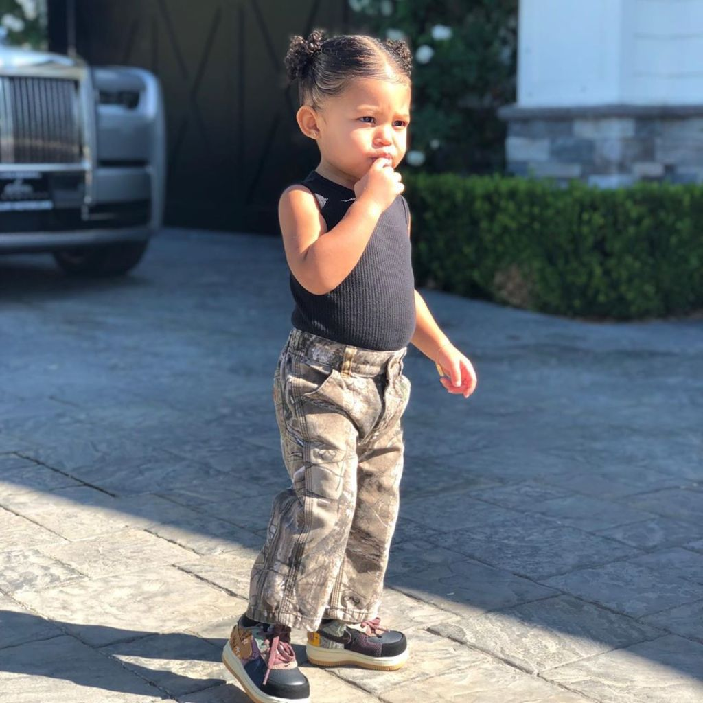 Kylie Jenner Gushes Over Travis Scott's Photo of Stormi on IG