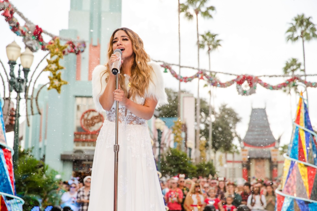 Disney Parks Magical Christmas Day Parade Ally Brooke
