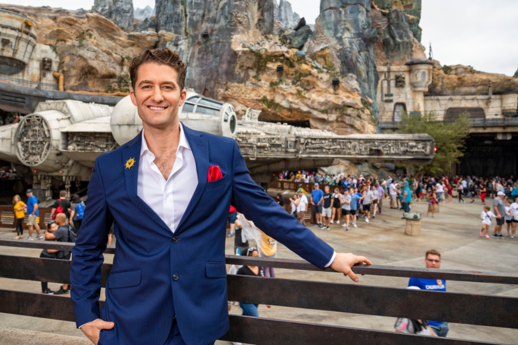 Disney Parks Magical Christmas Day Parade Matthew Morrison
