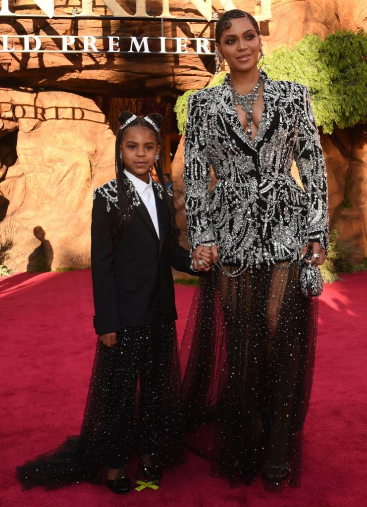 Beyoncé and Blue Ivy Holding Hands on the Red Carpet
