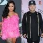 A Split Image of Blac Chyna and Rob Kardashian