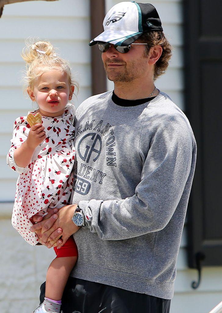 Bradley Cooper and Lea De Seine