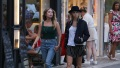 Cara Delevingne and Ashley Benson strolling in St Tropez
