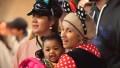Cardi B Holds Daughter Kulture at Disneyland