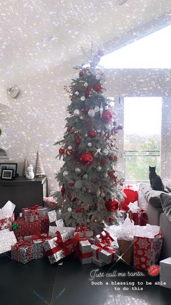 Celebrities Celebrating Christmas