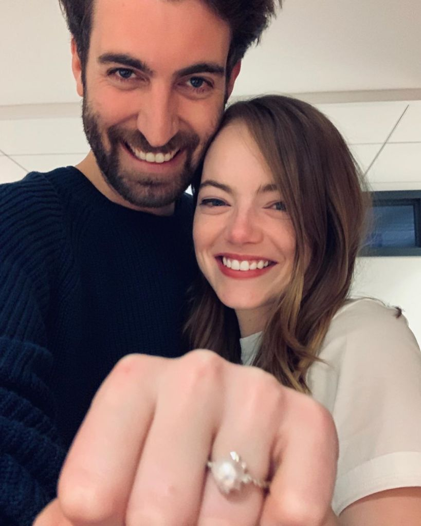 Emma Stone Shows Off Engagement Ring With Dave McCary
