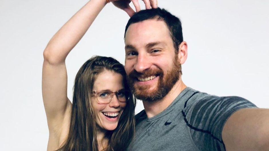 Daniel and Kelli Segar in a Selfie