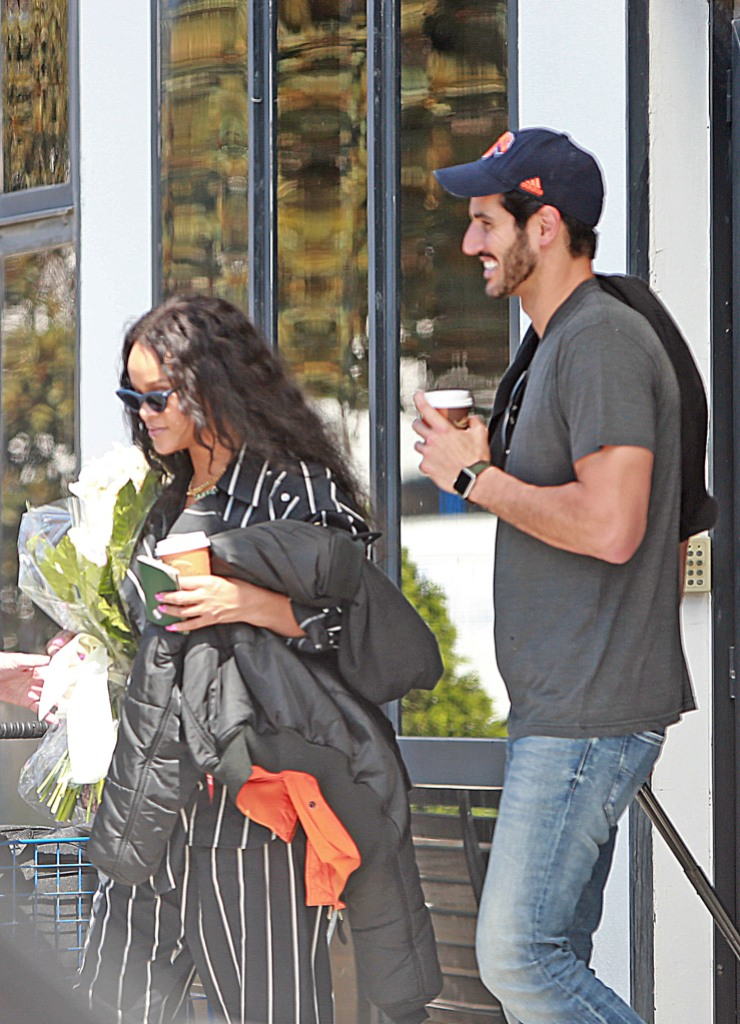 Rihanna with Hassan Jameel