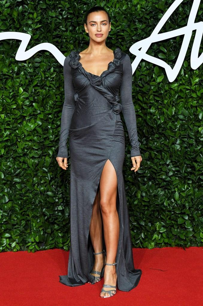 Irina Shayk The Fashion Awards UK