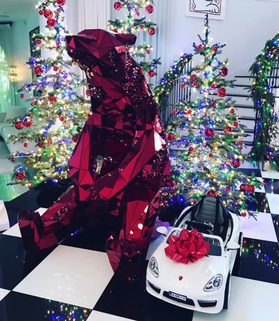 Kris Jenner's Christmas Decorations